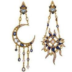 Mooning Over Italian Designer Diego Percossi Papi's Dreamy Earrings