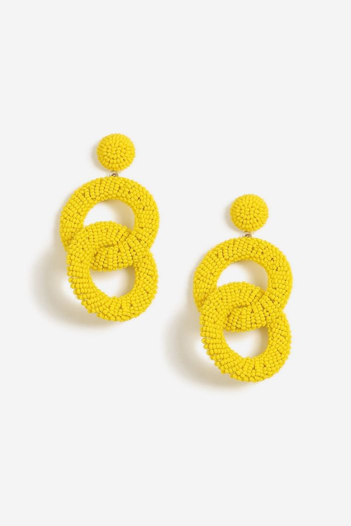 Yellow Earrings Jewelry   Bags & Accessories   Topshop