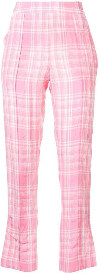 oboe plaid trousers