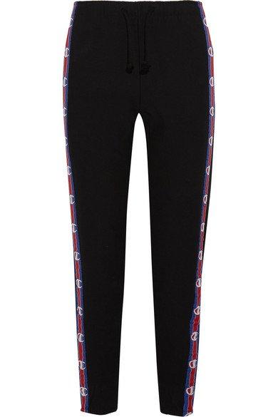 Vetements + Champion   jersey track pants