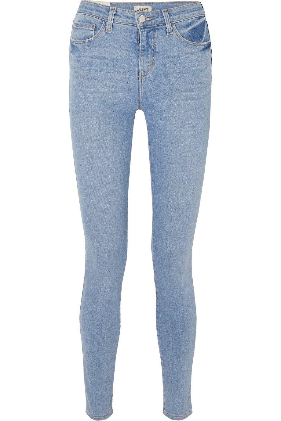 L'Agence | Marguerite high-rise skinny jeans | NET-A-PORTER.COM