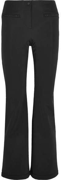 Roma Striped Ski Pants - Black