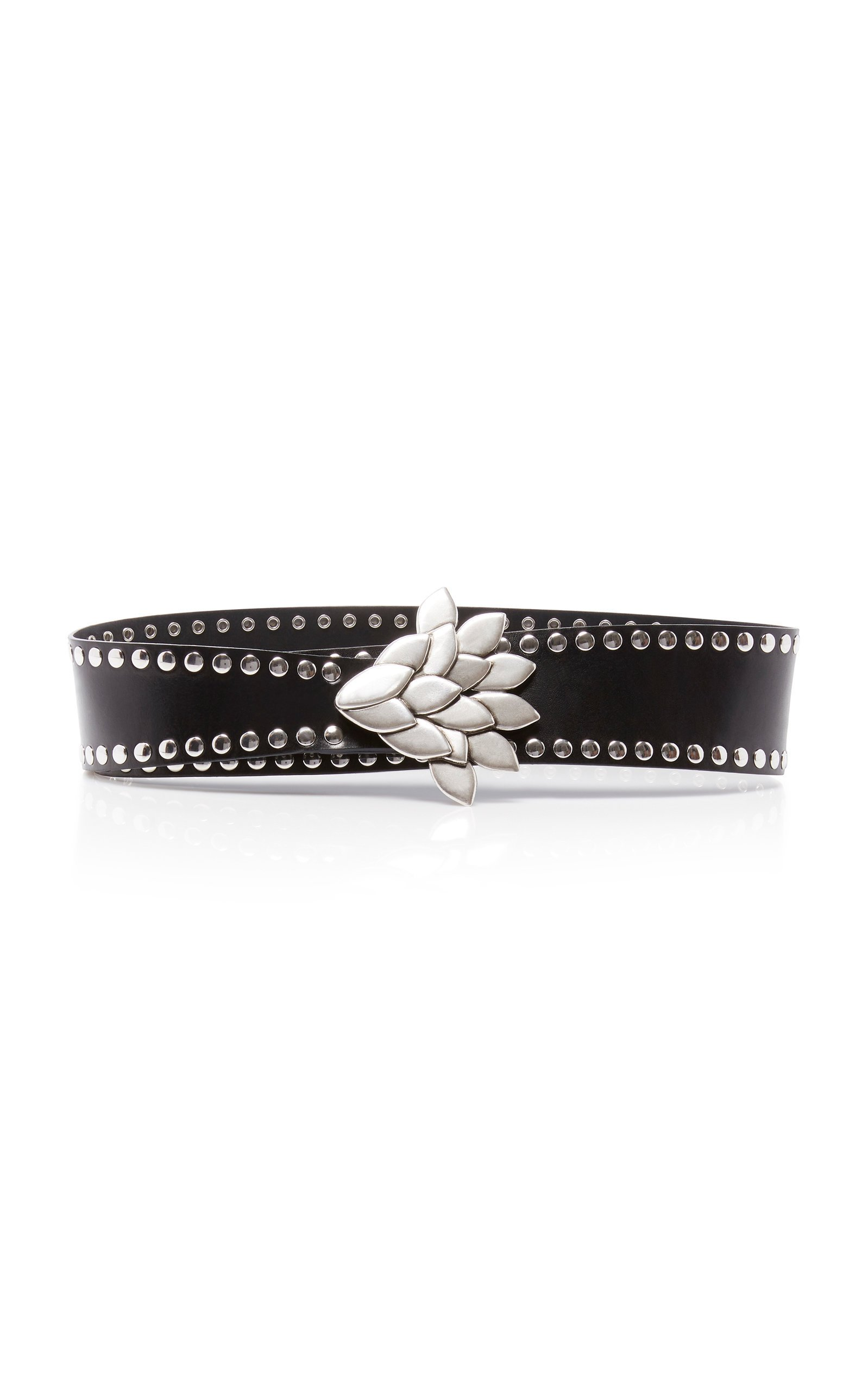Isabel Marant Lowi Studded Leather Belt Size: XL
