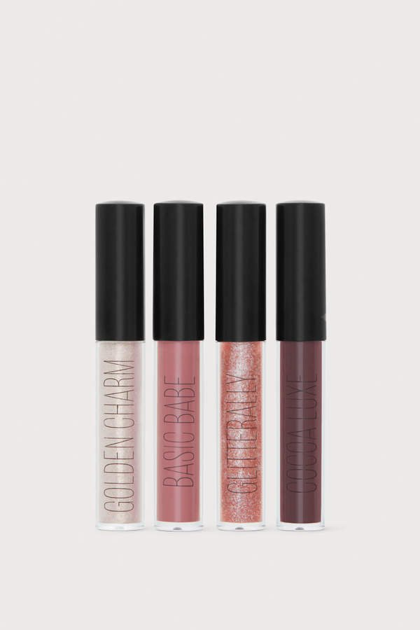 4-pack Lip Glosses - Pink