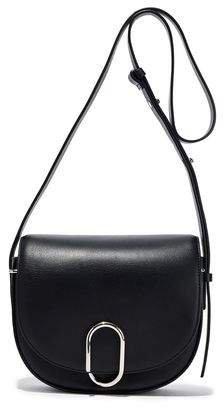Alix Saddle Leather Shoulder Bag