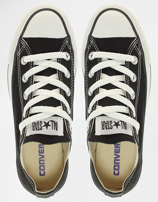 Converse Chuck Taylor All Star core black ox sneakers