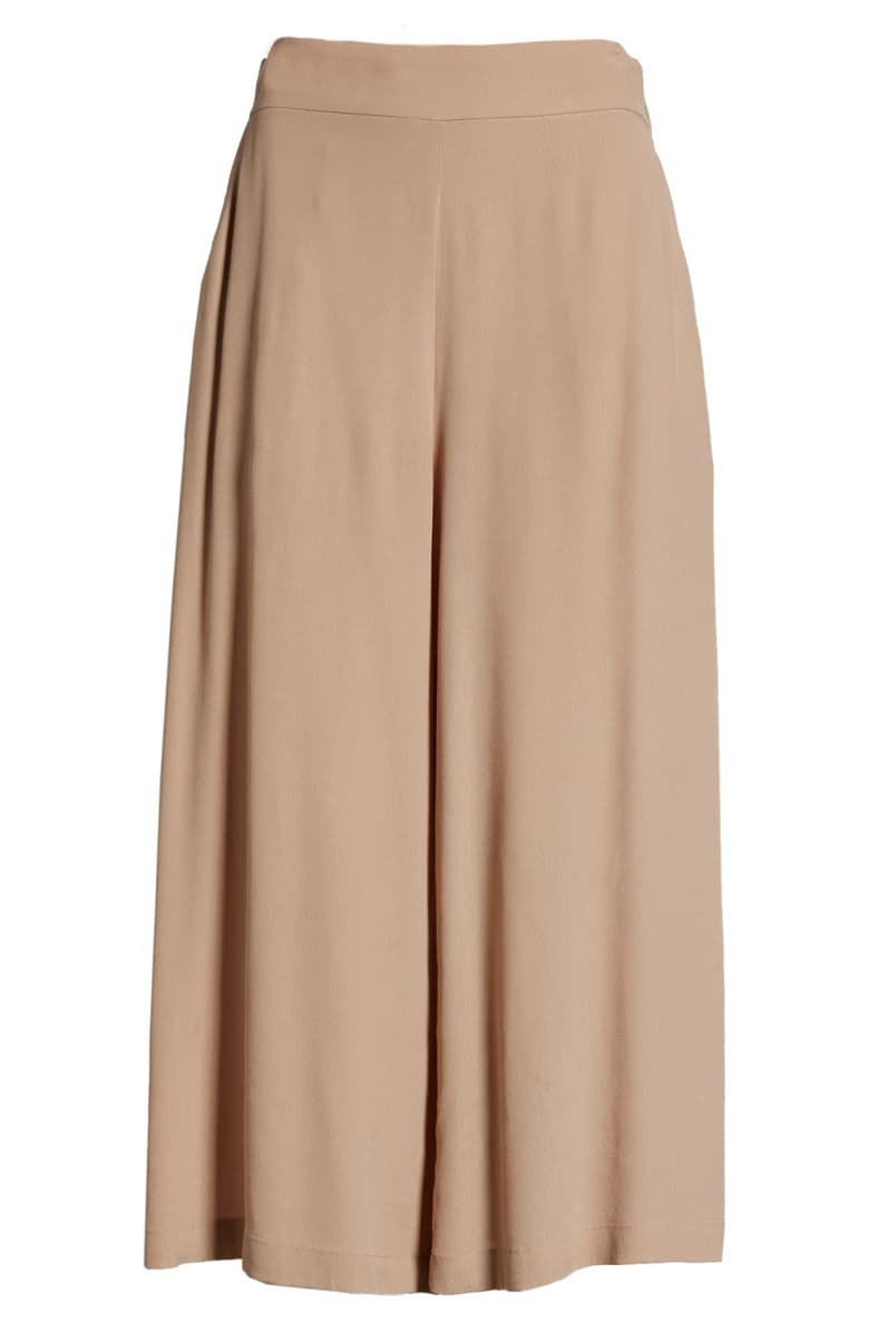 Leith Easy Crop Pants   Nordstrom
