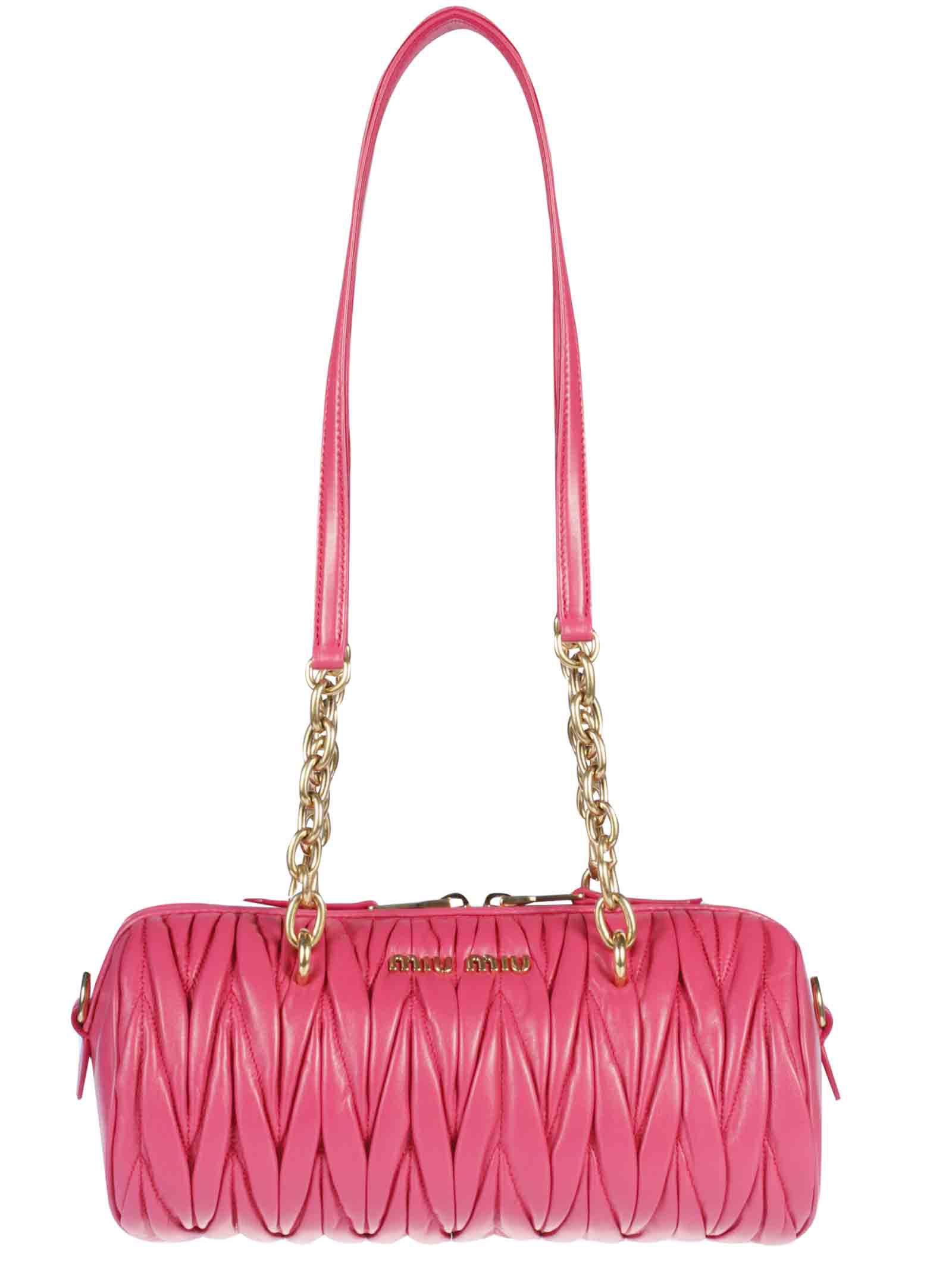 Miu Miu Bauletto Shoulder Bag
