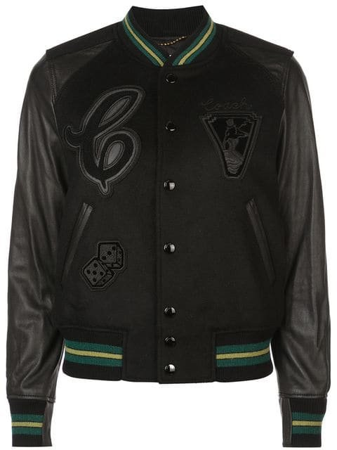 Coach patch detail varsity jacket $895 - Buy SS19 Online - Fast Global Delivery, Price