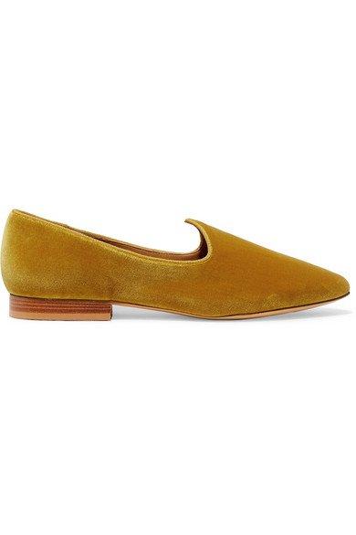 Le Monde Beryl | Venetian velvet loafers | NET-A-PORTER.COM