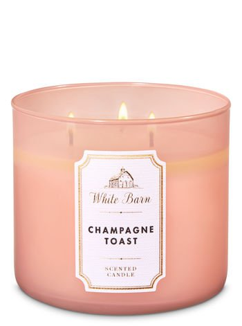 Champagne Toast 3-Wick Candle - White Barn | Bath & Body Works