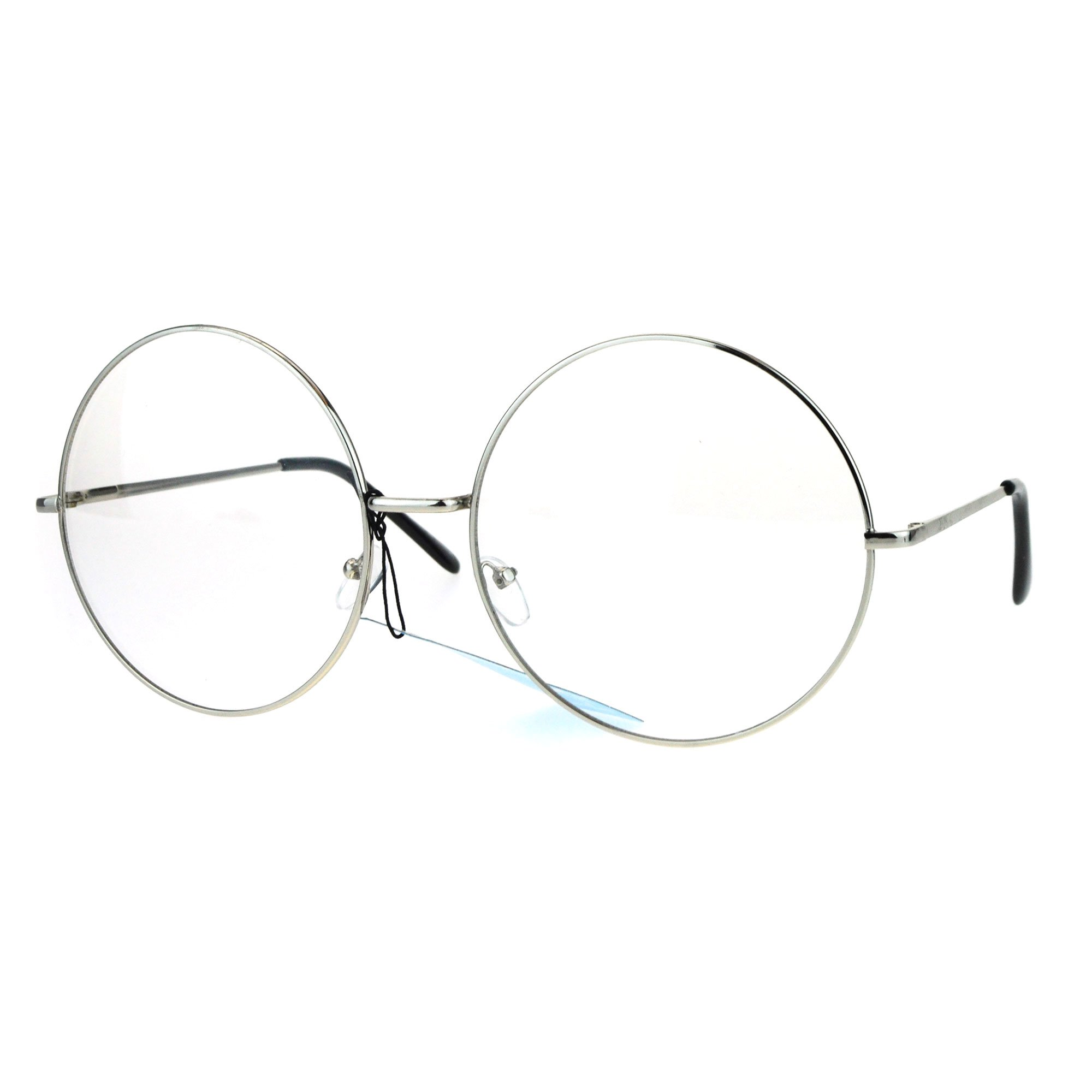 circle clear glasses - Google Search
