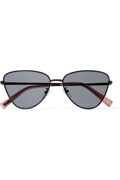 Le Specs   Echo cat-eye metal sunglasses   NET-A-PORTER.COM