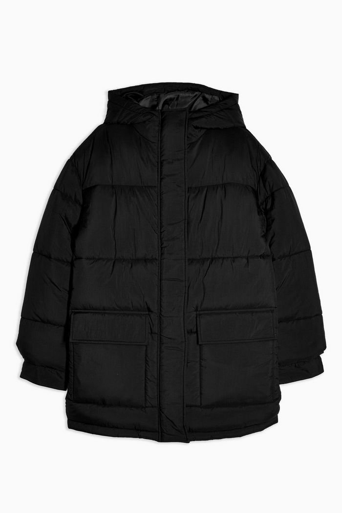Black Padded Puffer Jacket | Topshop