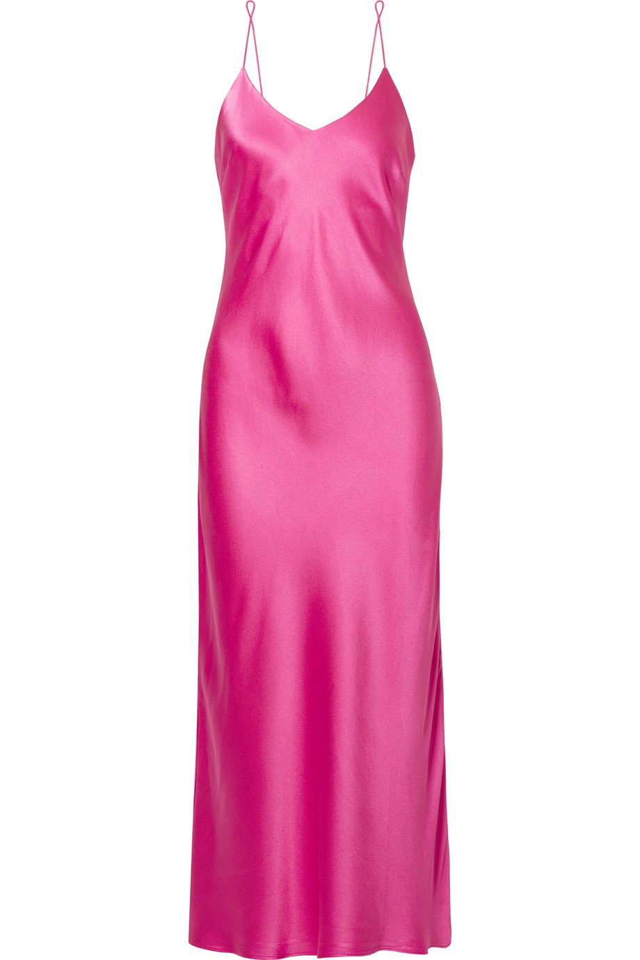 Anine Bing | Rosemary silk-satin midi dress | NET-A-PORTER.COM
