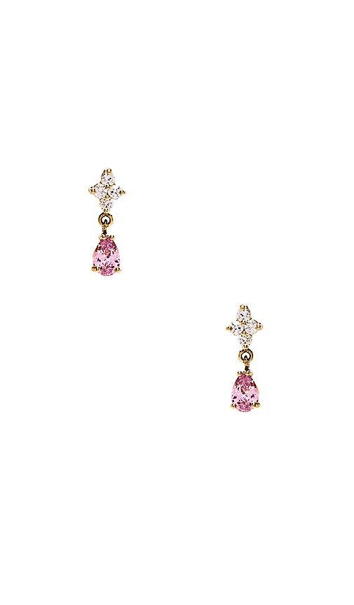 Vanessa Mooney The Ginger Earrings in Pink | REVOLVE