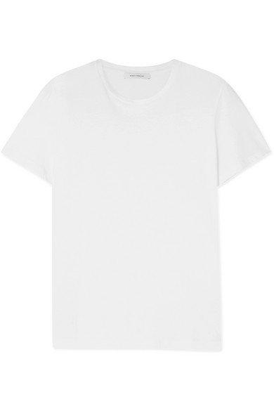 Ninety Percent   + NET SUSTAIN Jenna organic cotton-jersey T-shirt   NET-A-PORTER.COM