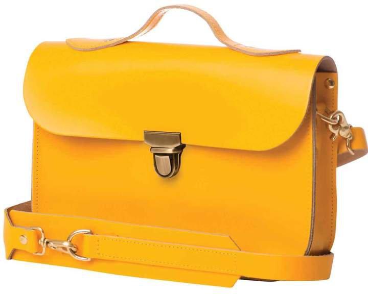 N'Damus London - Medium Yellow Rucksack & Satchel
