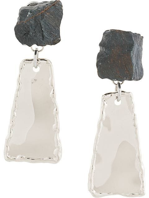Proenza Schouler Small Hammered Dangle Earrings
