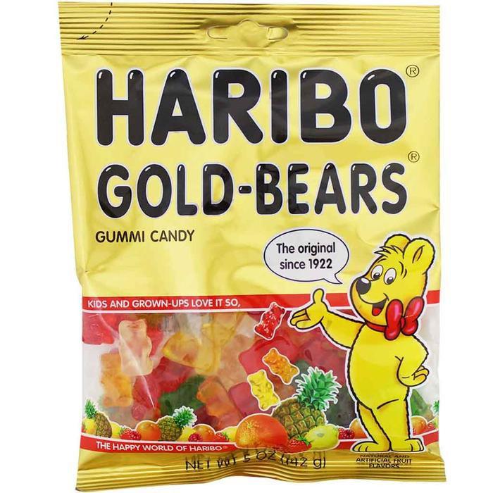 Haribo Gold-Bears Gummi Candy, 5 oz (142 g) — Yummy Bazaar