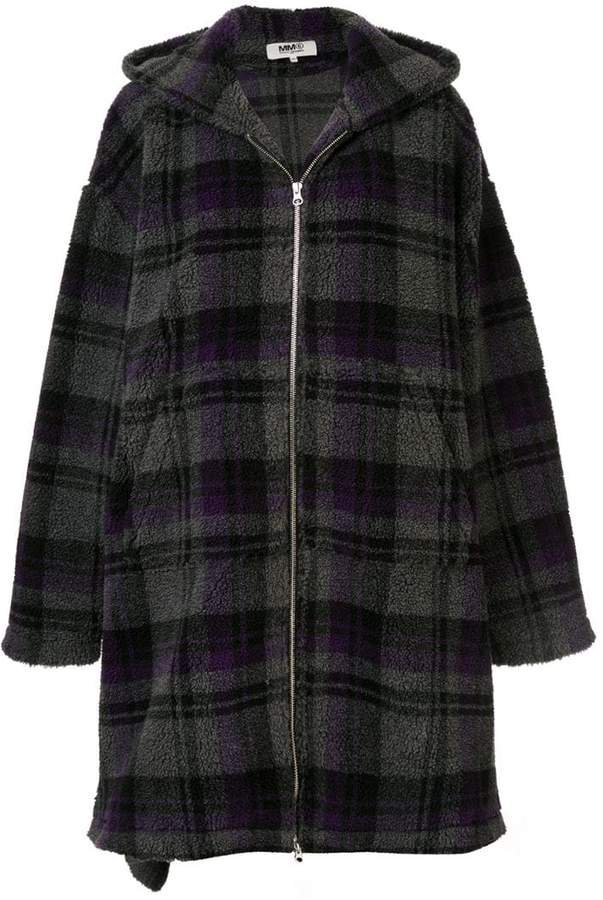 blanket oversized coat