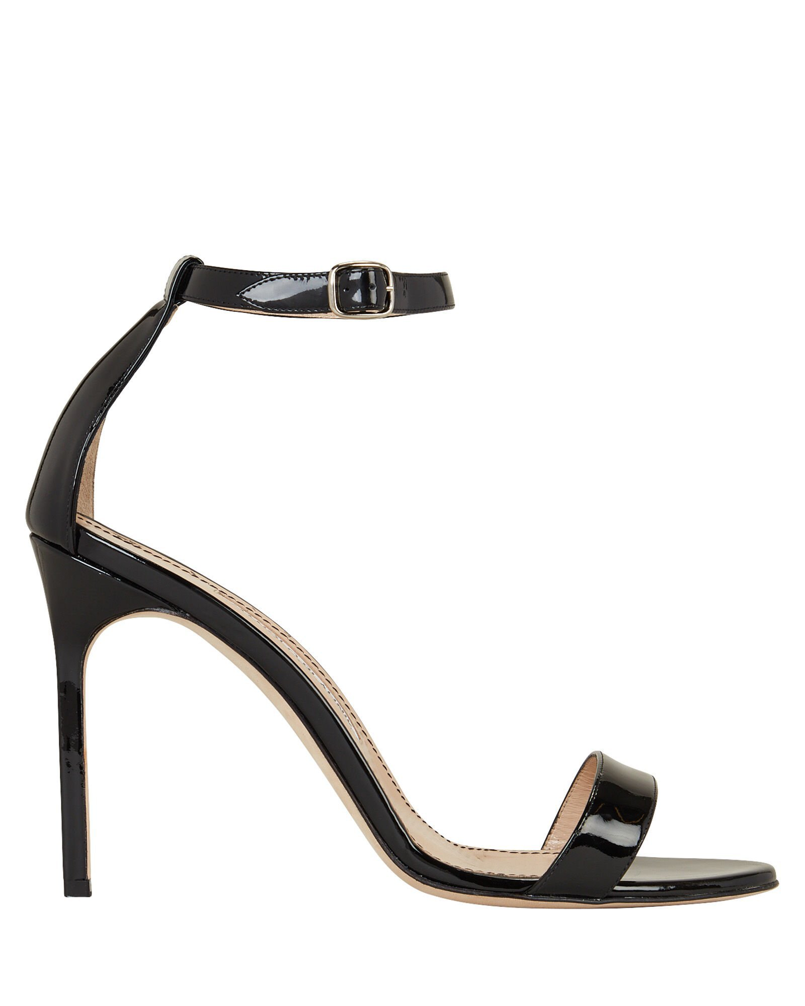 Chaos Patent Leather Heeled Sandals