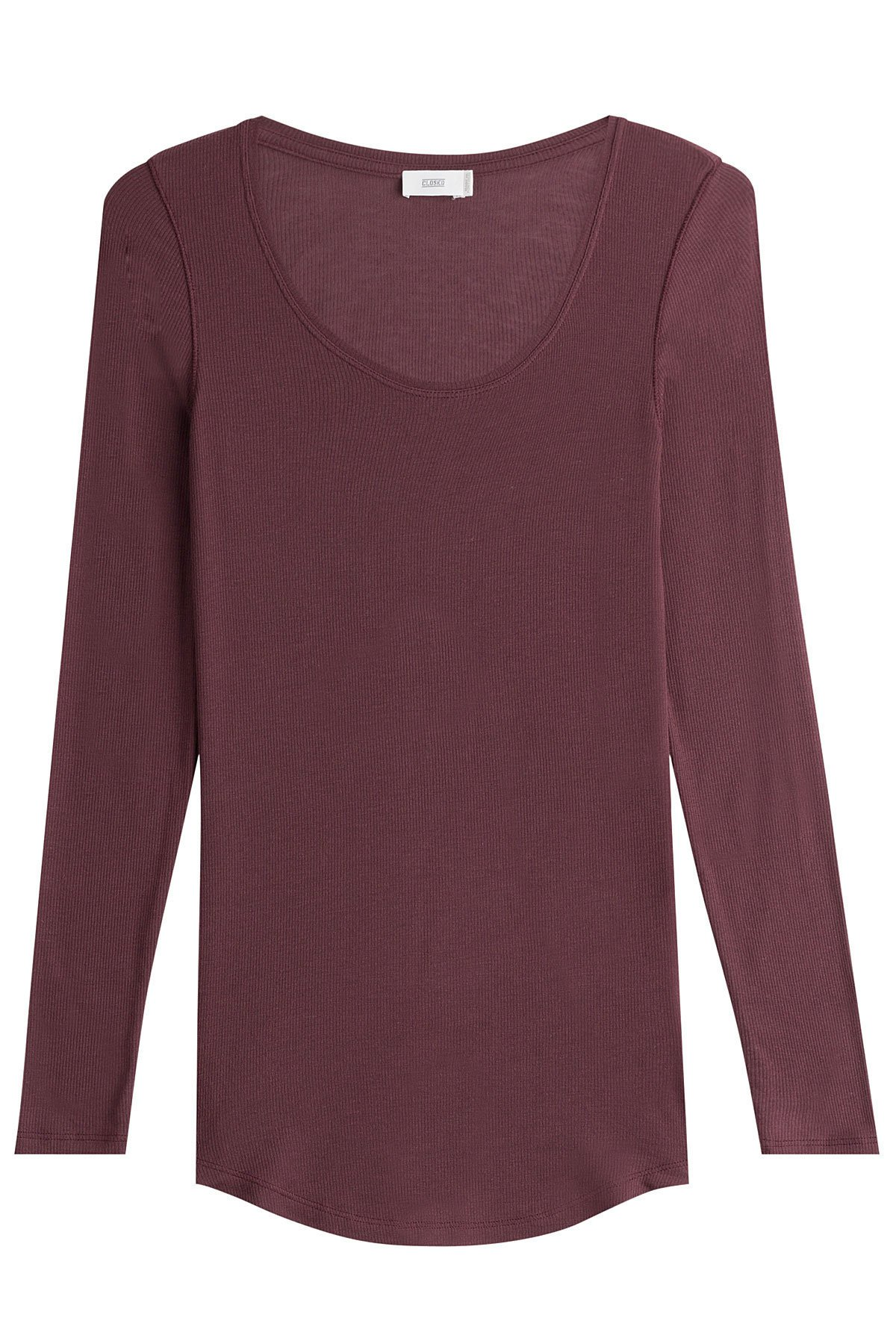 Jersey Top with Cashmere Gr. M