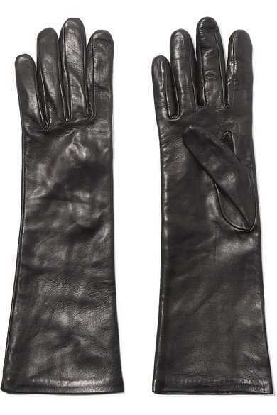 Agnelle   Leather gloves   NET-A-PORTER.COM