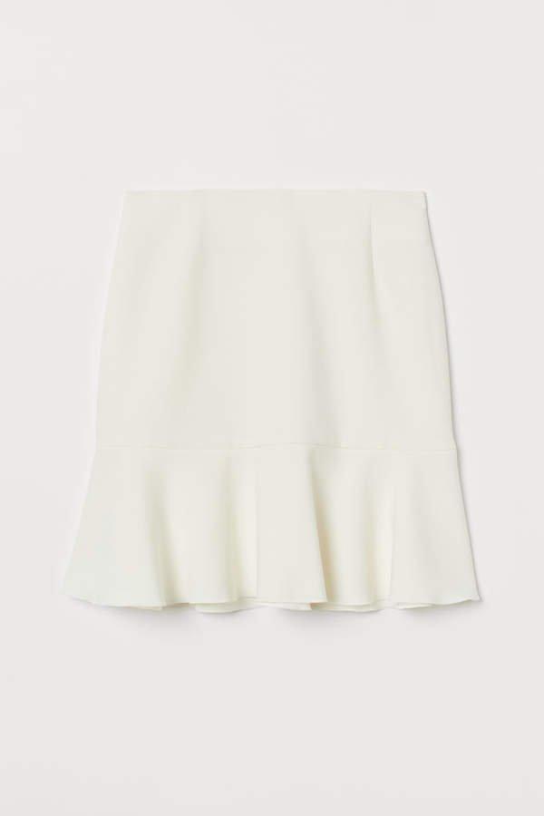 Short Skirt - White