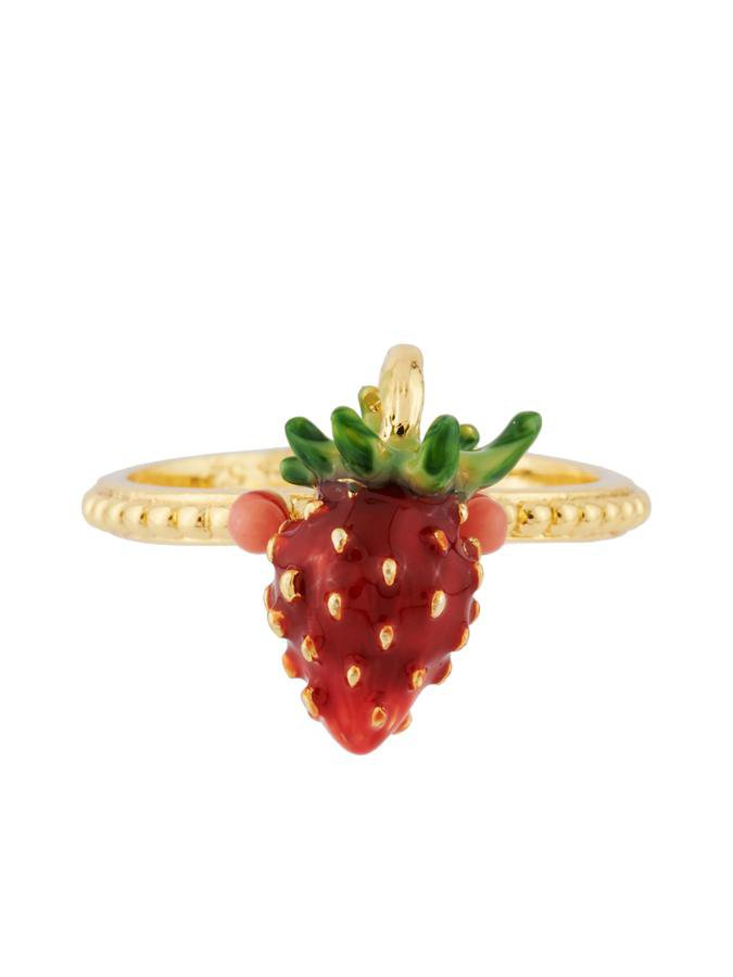 Les Néréides - Red Royal Gardens Little Strawberry Ring – SimplySoles
