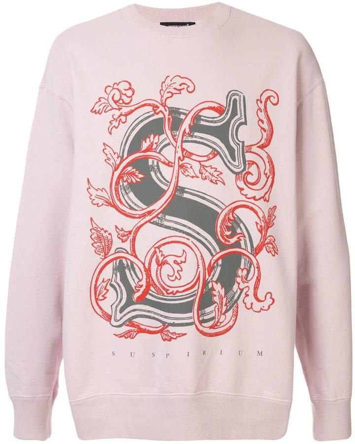 Suspirium floral sweatshirt
