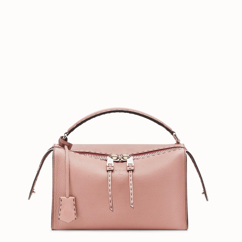 Pink leather Boston bag - LEI BAG SELLERIA | Fendi