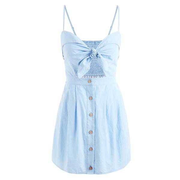 Denim Summer Bohemian Beach Dress – joychic