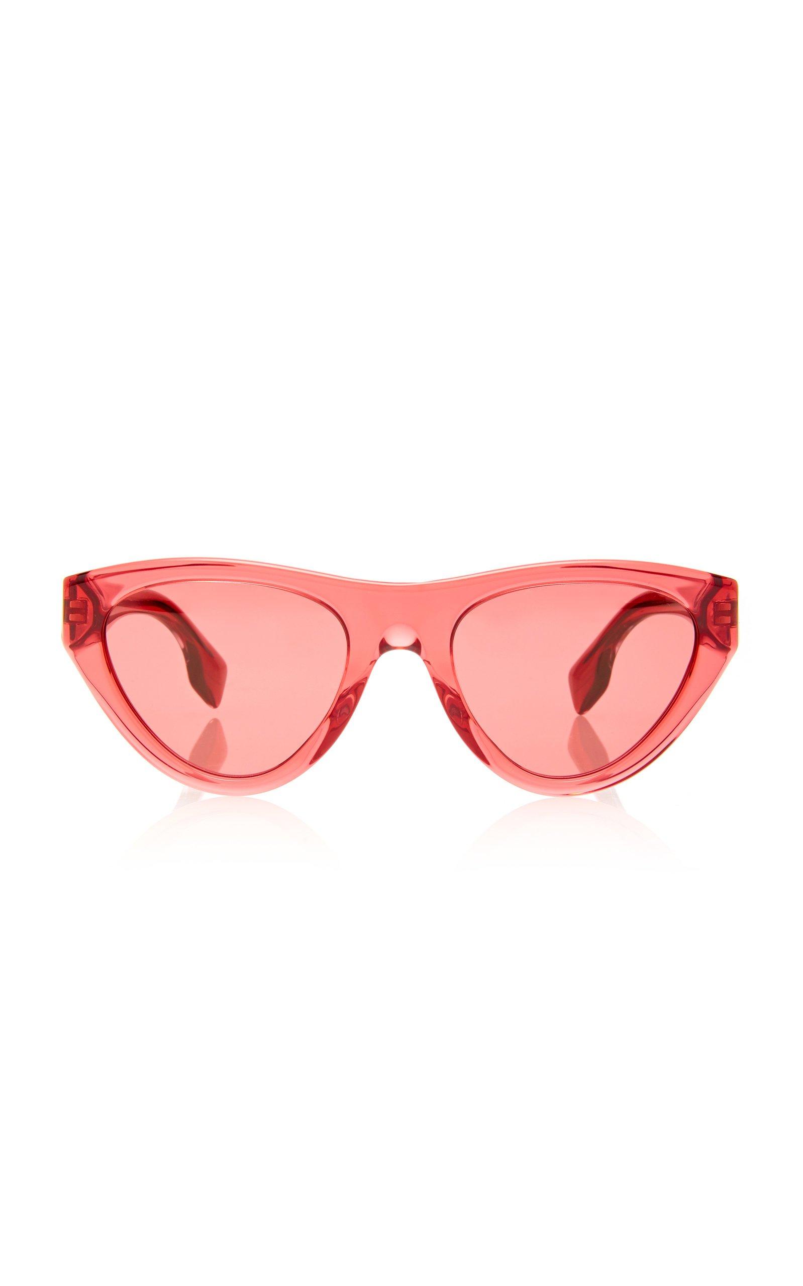 Burberry Cat-Eye Acetate Sunglasses