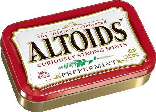 Amazon.com : Altoids Peppermint Mints, 1.76 ounce (12 Packs) : Candy Mints : Grocery & Gourmet Food