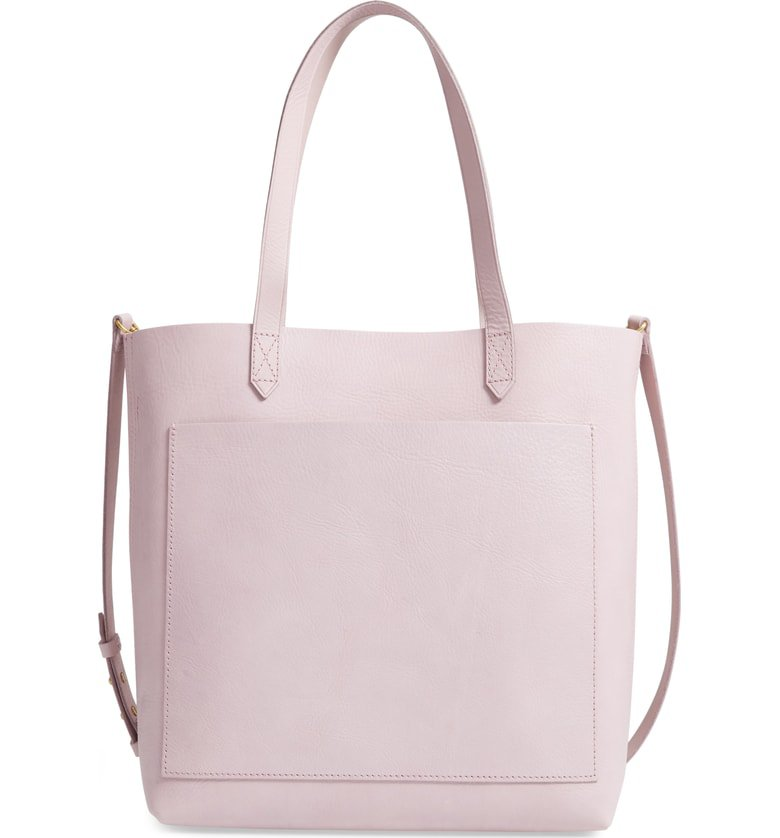 Madewell Medium Leather Transport Tote | Nordstrom