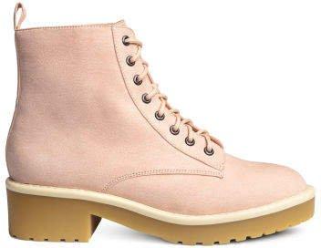Ankle boots - Orange