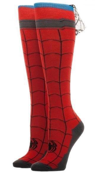 Collectables - Marvel Spiderman Knee High Cape Socks - Buy Online Australia – Beserk
