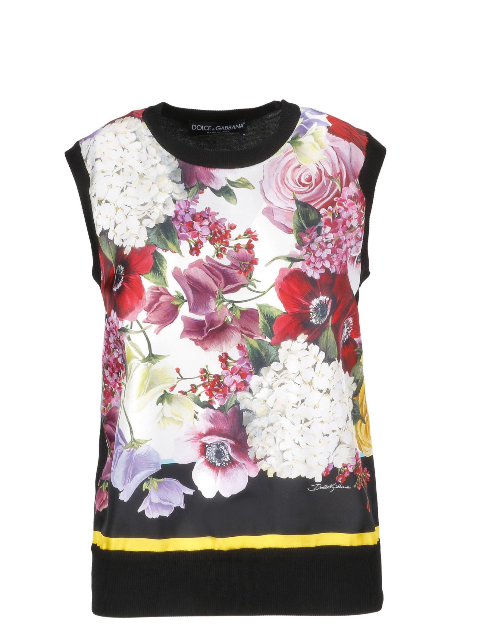 Dolce & Gabbana Floral Blouse