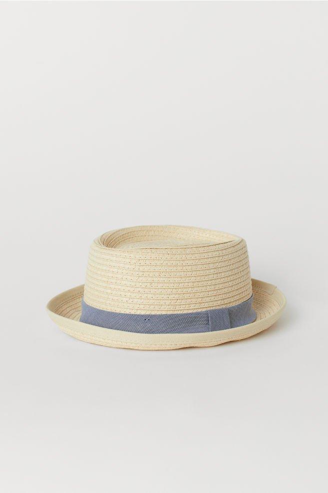 Straw Hat - Natural - Kids | H&M US