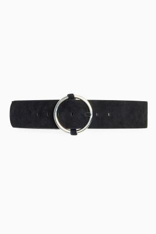 Buy Black Suede Wide Belt from the Next UK online shop