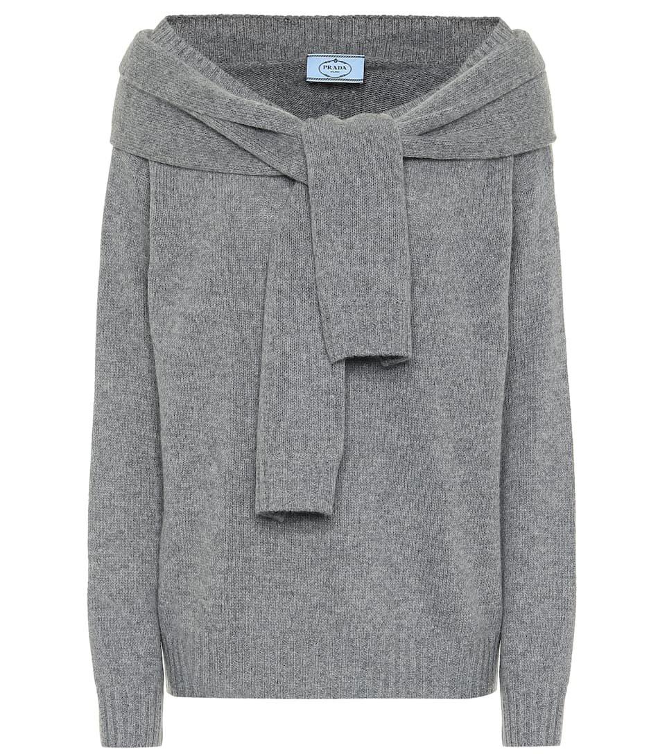 Prada - Wool and cashmere sweater | Mytheresa