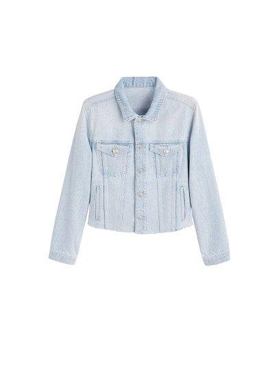 MANGO Light denim jacket