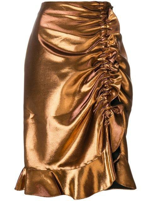 Kenzo ruched skirt