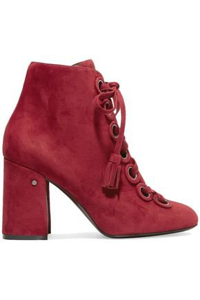 Paddle lace-up suede ankle boots   LAURENCE DACADE   Sale up to 70% off   THE OUTNET