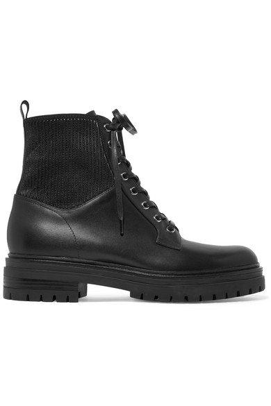 Gianvito Rossi   Ceonene 40 leather ankle boots   NET-A-PORTER.COM