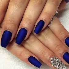royal blue nails - Google Search