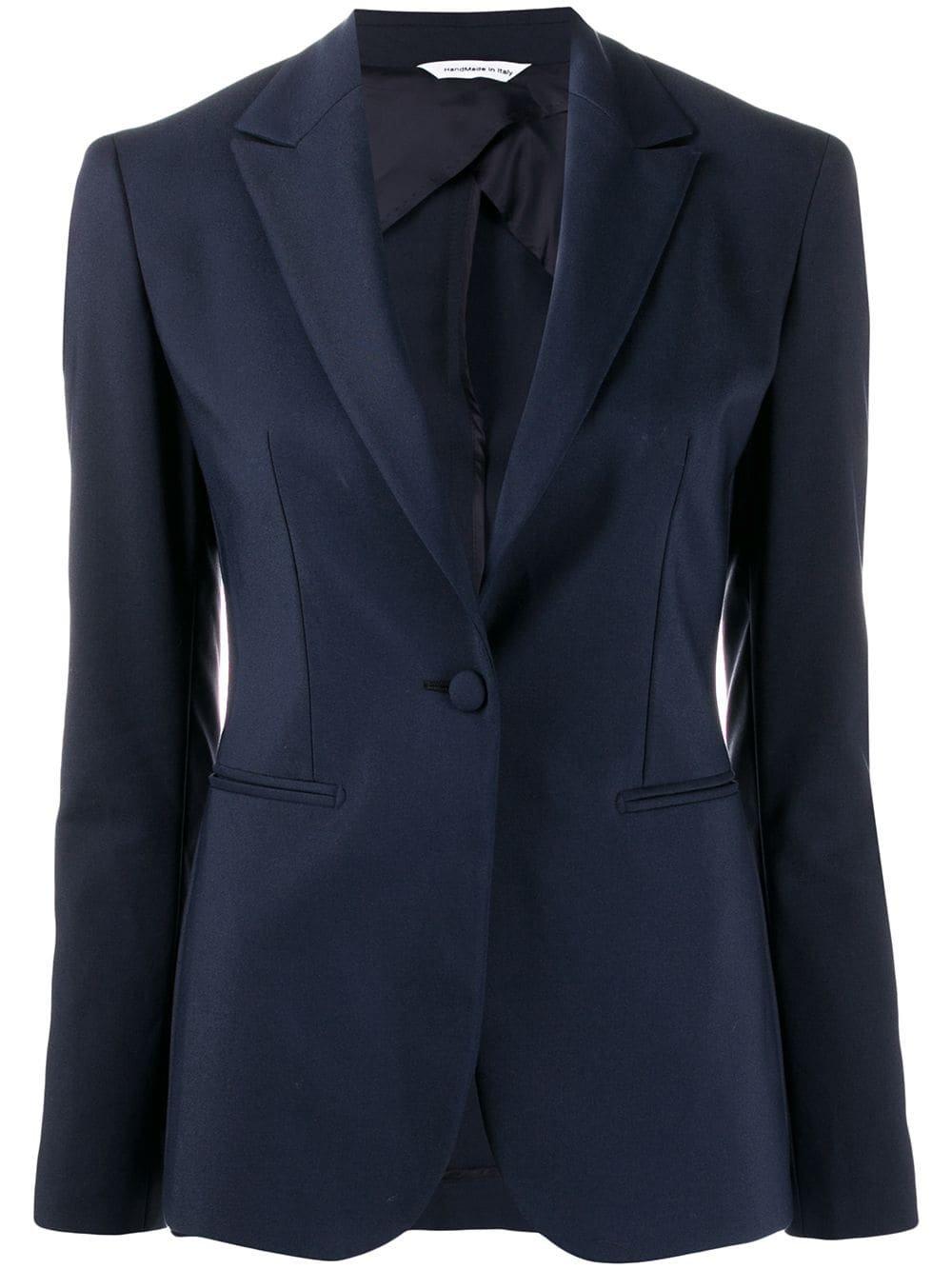 Blue Tonello Fitted Blazer | Farfetch.com