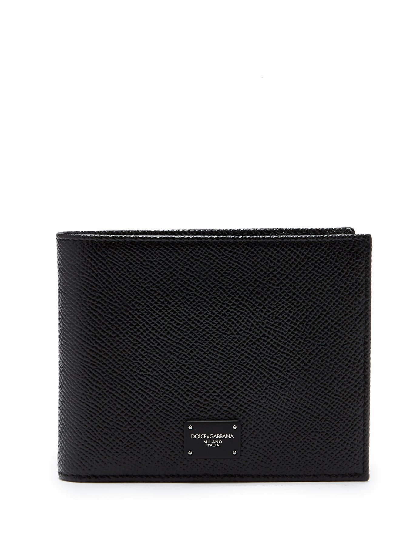 Bi-fold grained-leather wallet | Dolce & Gabbana | MATCHESFASHION.COM UK