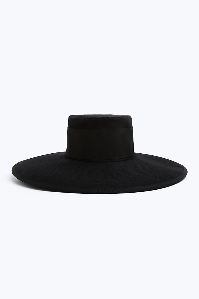 Marc Jacobs x Stephen Jones Millinery Large Boater Hat
